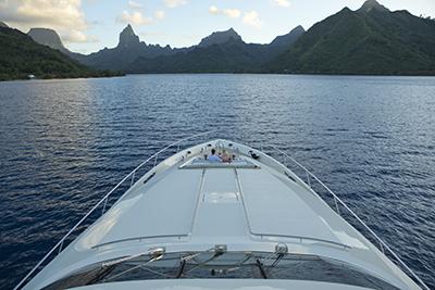 superyacht tahiti charter